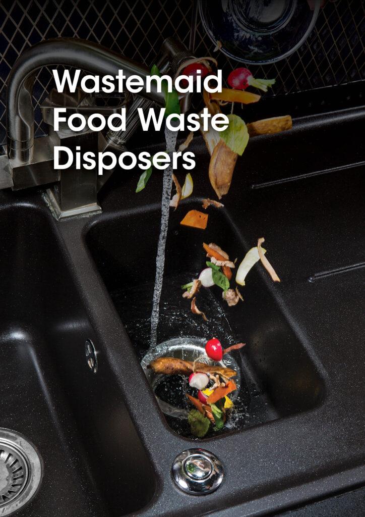 Sanbra Wastemaid Food Waste Disposers brochure cover