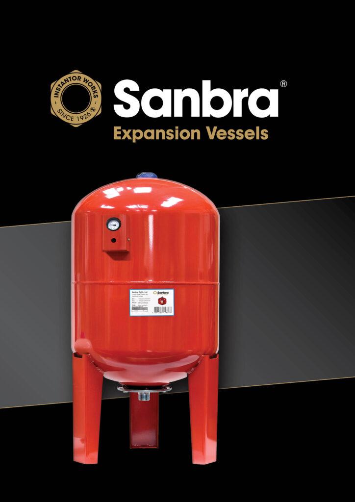 Sanbra Expansion Vessels brochure cover