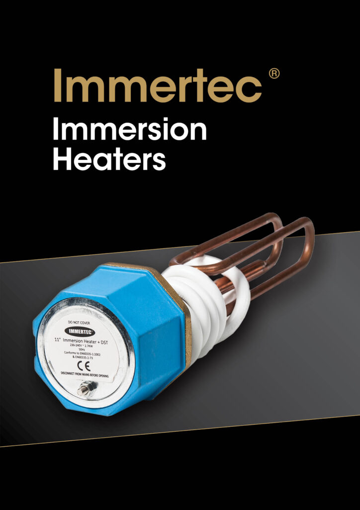 Immertec Immersion Heaters brochure cover