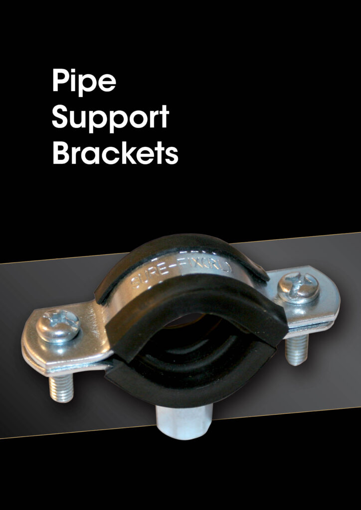 Sanbra Pipe Support brackets brochure cover