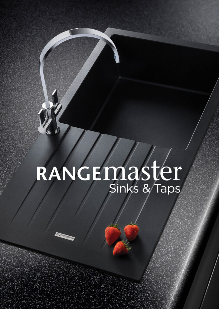 Rangemaster sinks and taps brochure cover