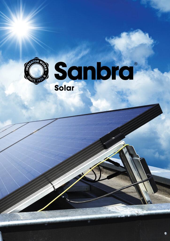 Sanbra Solar brochure cover