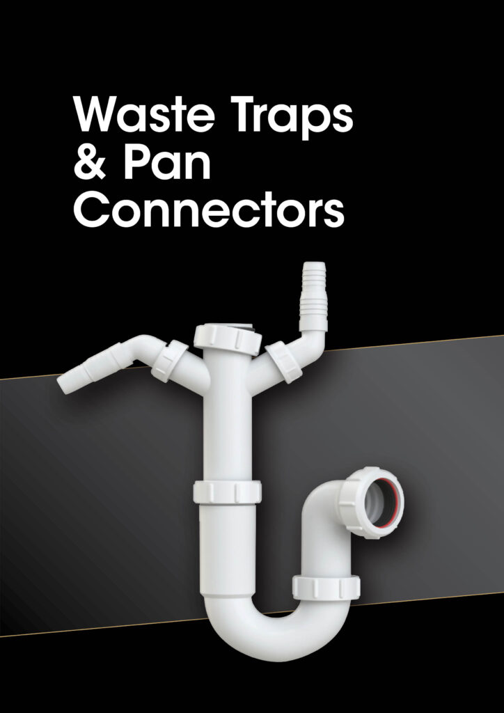 Waste Traps and Pan Connectors brochure cover