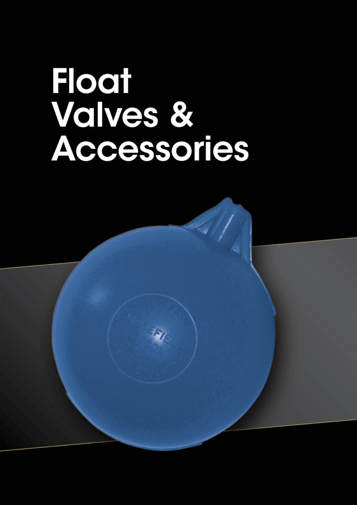 Sanbra Float Valves and accessories brochure cover